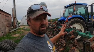 Finally A Decent Rain Shower - Hooking Up The TG 210 To The Cultivator and Fixing The Silo Unloader!