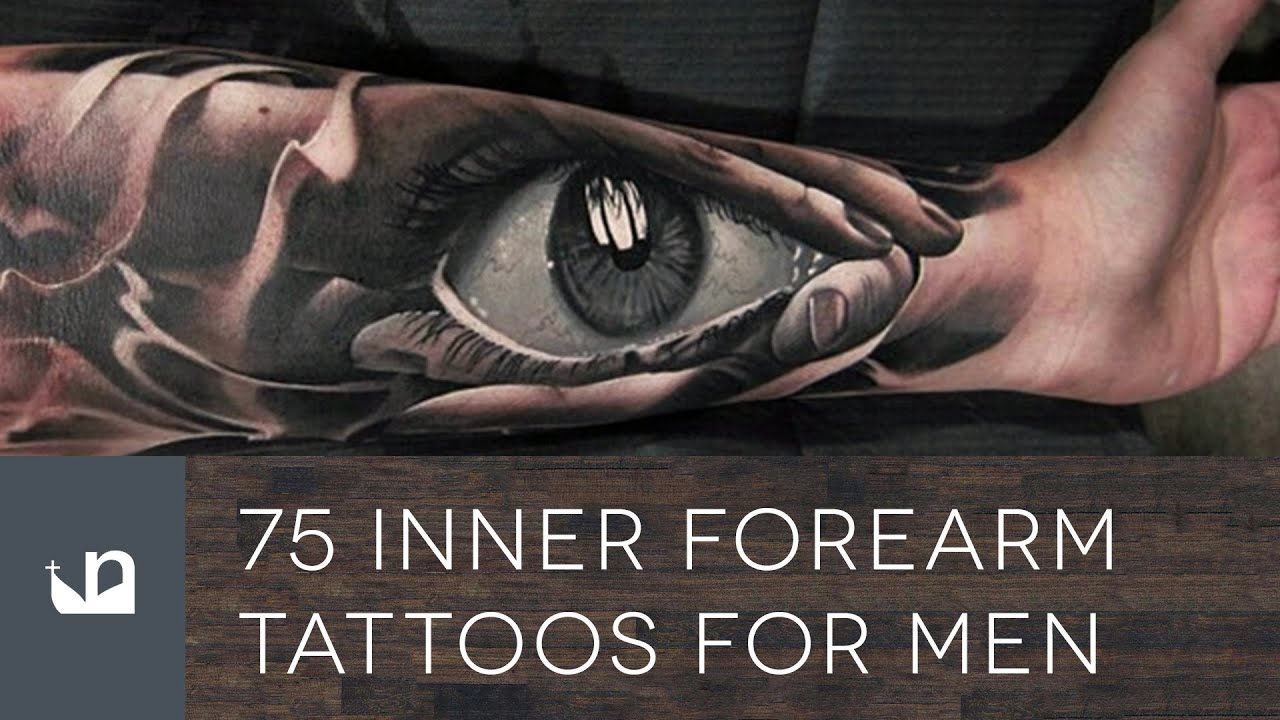 75 Inner Forearm Tattoos For Men - YouTube