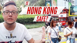 🇭🇰 Is HONG KONG SAFE for TOURISTS? | 2019 HONG KONG PROTESTS | MY EXPERIENCE (with subtitles)