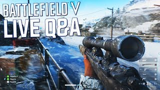 Battlefield 5 Live Q&A w/ Multiplayer Gameplay (E3 2018)