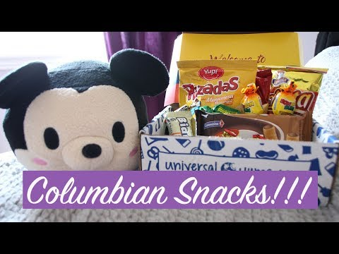 UNIVERSAL YUMS: Snacks from Columbia!!!