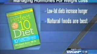 #1 Selling Author & Best Weight Loss Doctor in NYC Discusses Hormones on WGN