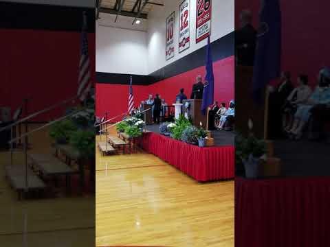 June 5, 2018 graduation in penn cambria high school  in cresson PA.