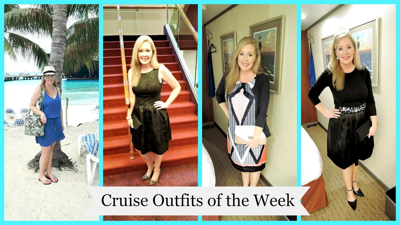 Cruise Outfits of the Week | Christmas 2014 - YouTube