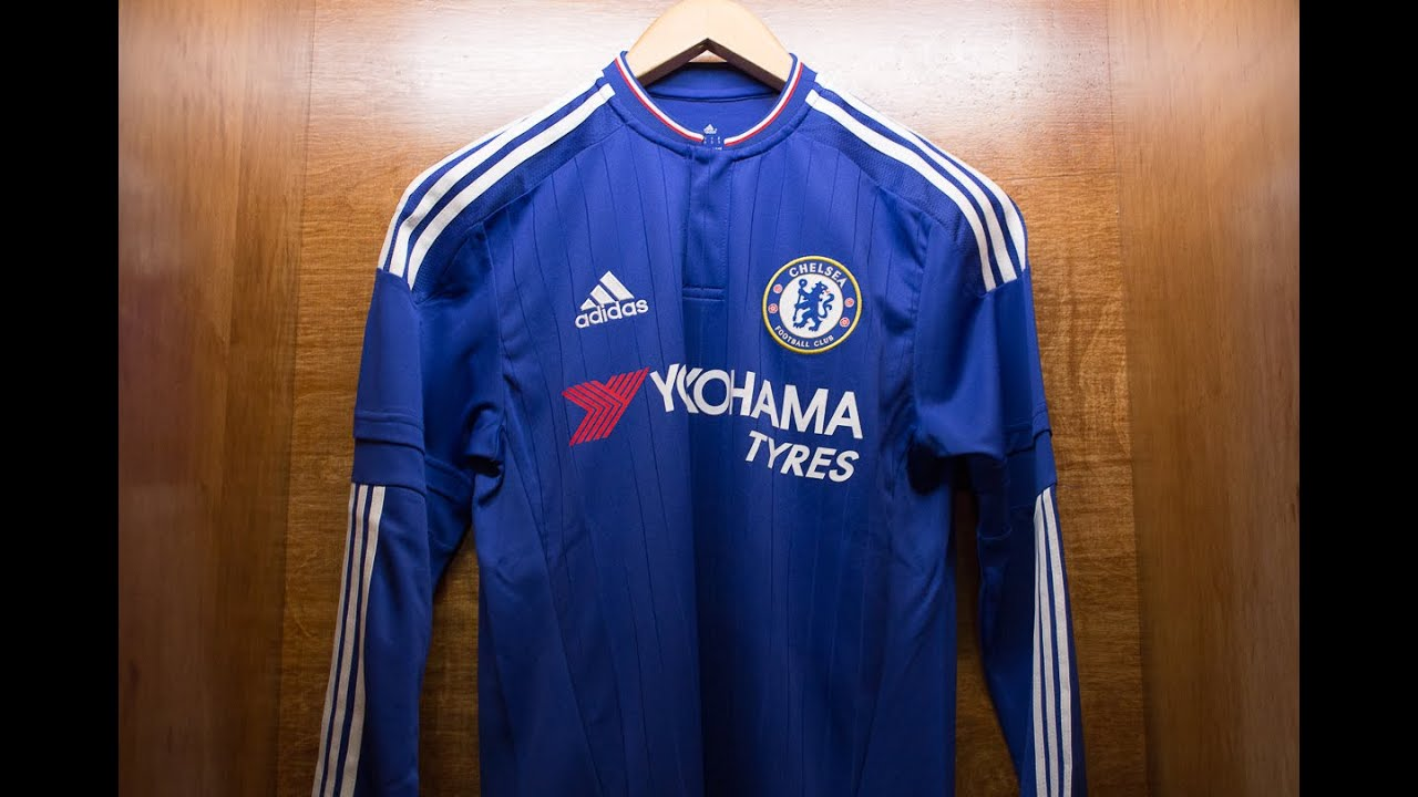 1e69c39f1ae Chelsea 2015/16 Home Jersey Review - YouTube