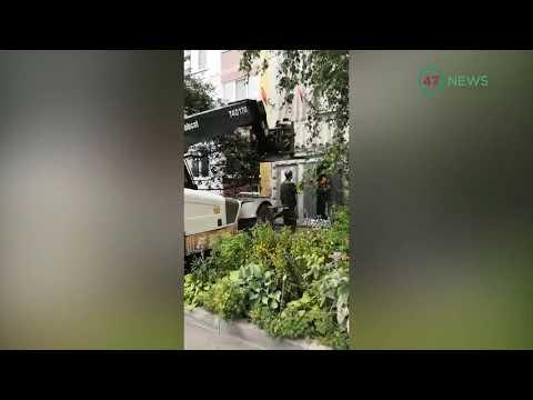 47news: место трагедии с ребёнком в Светогорске спешно обустраивают коммунальщики