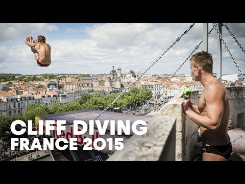 Incredible Cliff Diving in France - Red Bull Cliff Diving 2015