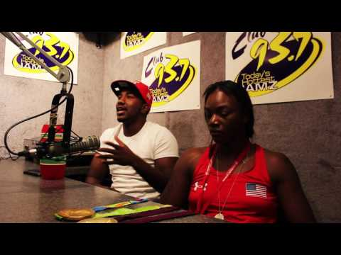 Claressa Shields And Zeke Gundry Go In-Depth On Being From Flint, Success, And More On The 8-1-Show