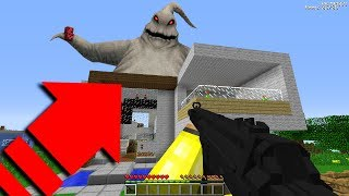 DEV MUTANT HAYALET EVİME SALDIRIYOR! 😱 - Minecraft