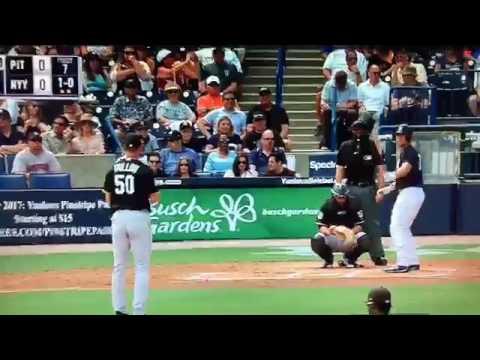 Yankees vs. Pirates from Tampa, FL