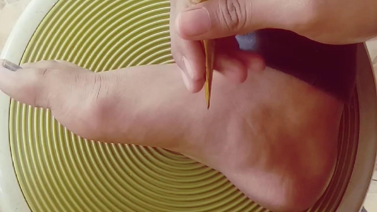 Simpe Mudah Henna Kaki Untuk Pemula