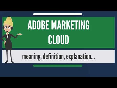 What is ADOBE MARKETING CLOUD? What does ADOBE MARKETING CLOUD mean? ADOBE MARKETING CLOUD meaning