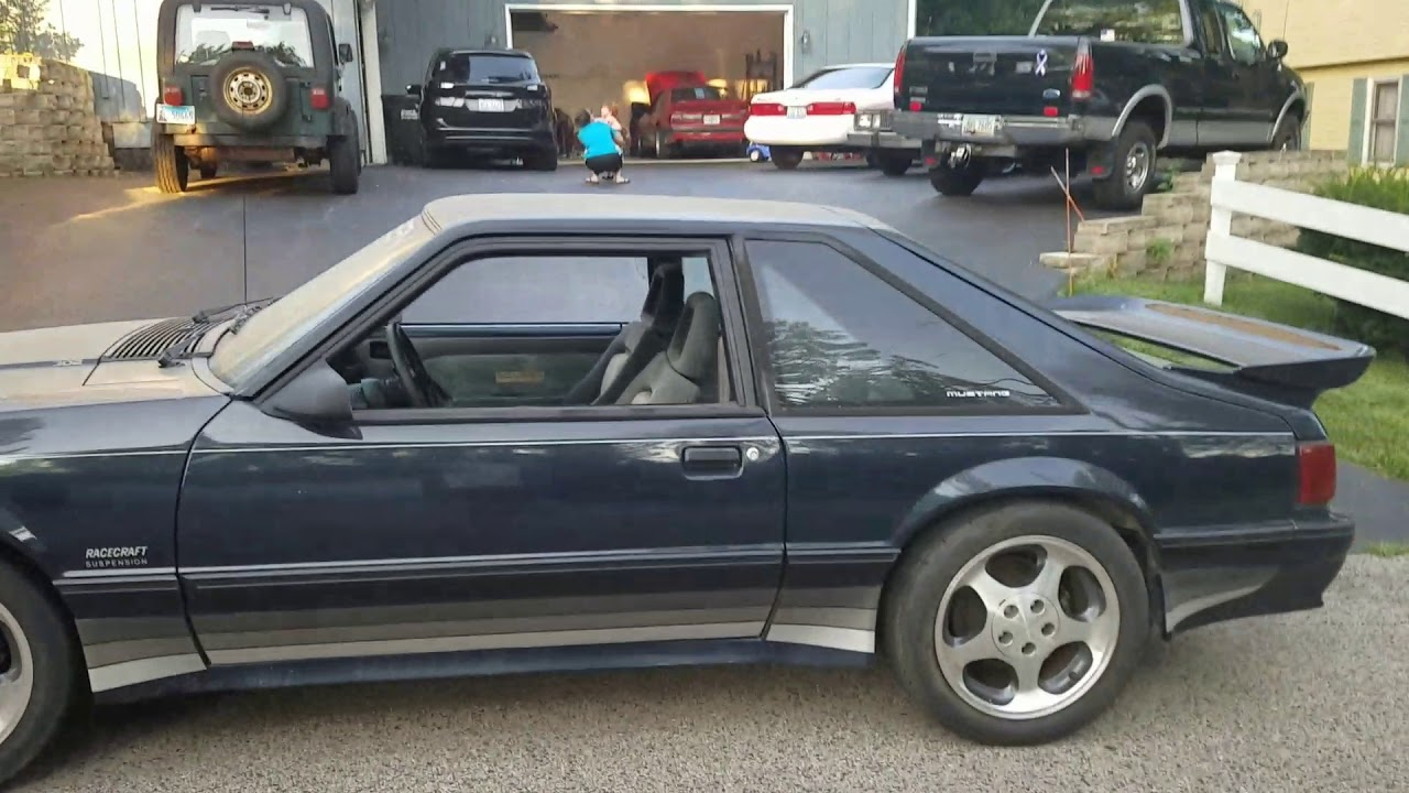 1989 ford mustang saleen 89 0058