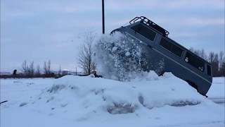 Volkswagen Vanagon Syncro.  Das Awsome.(I have been having fun with the slow motion 240 fps on my Iphone6 and decided to put together a couple of clips from yesterday out playing in the snow. Enjoy., 2016-01-10T17:44:18.000Z)