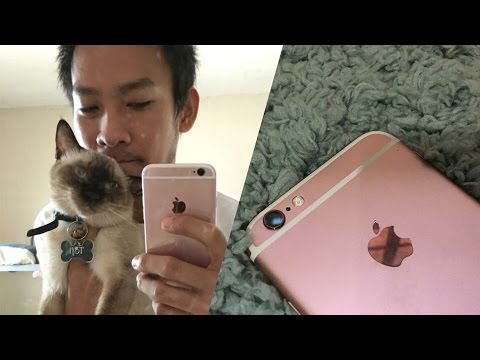 Skinnypunch : iPhone 6s Rose Gold Unboxing (My 1st iPhone Ever!)