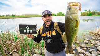 BIG Pond Bass DESTROYS My Topwater Lure!!! (Spring Pond Fishing)