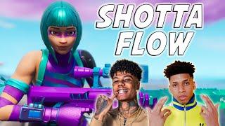 "Fortnite Montage - ""SHOTTA FLOW REMIX"" (NLE Choppa & Blueface)"