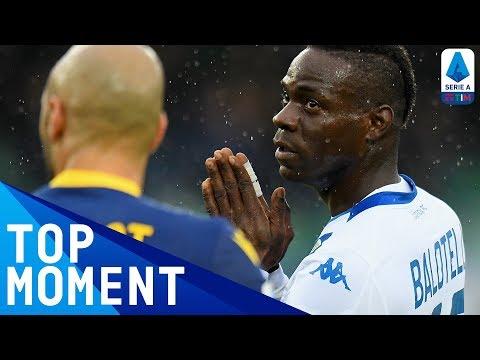 Balotelli Scores a Sublime Late Goal | Hellas Verona 2-1 Brescia | Top Moment | Serie A