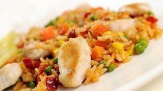 Рецепт плова с куриным филе. Быстро и вкусно!