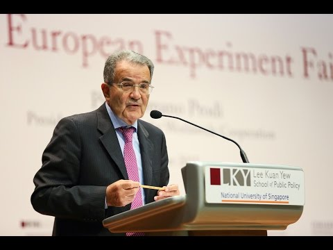 [Lecture] Romano Prodi: Has the European Experiment Failed?
