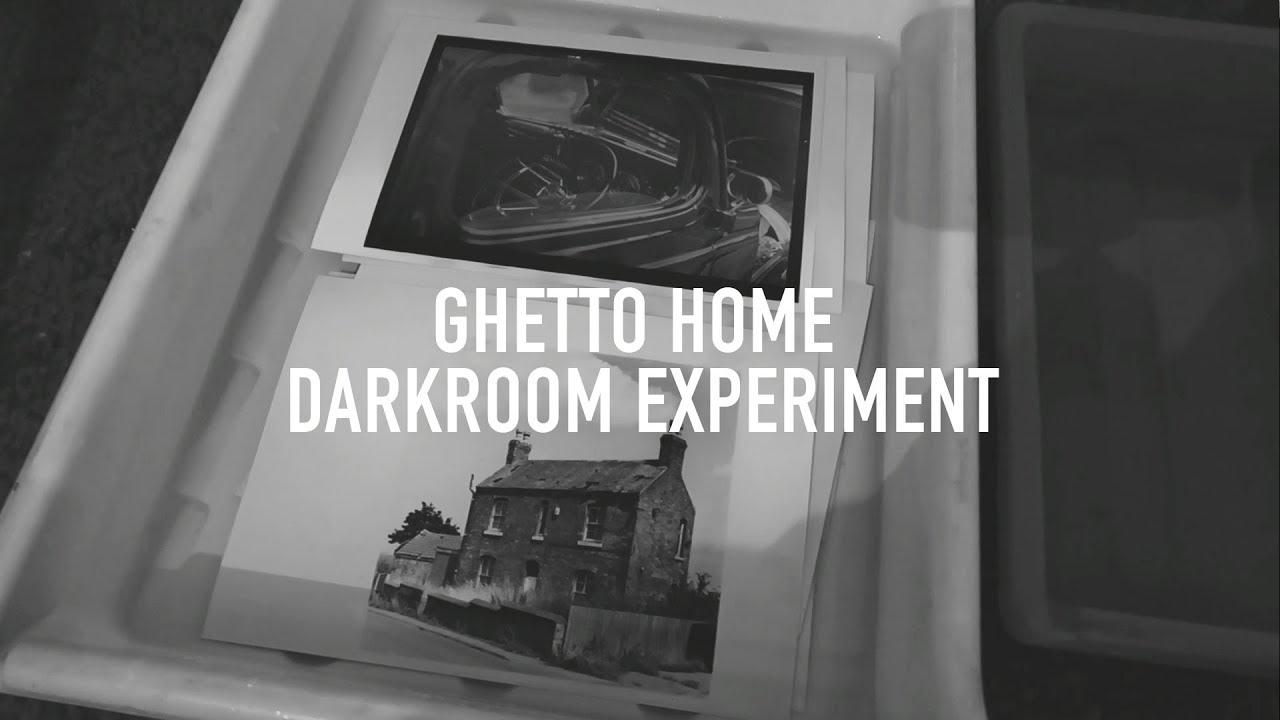 No darkroom how to basic home darkroom experiment using ilford film developer to make prints