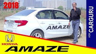 2018 HONDA Amaze CVT, is THIS really amazing? chaliye DEKHTE hain. Engine, Price, Drive, Diesel..