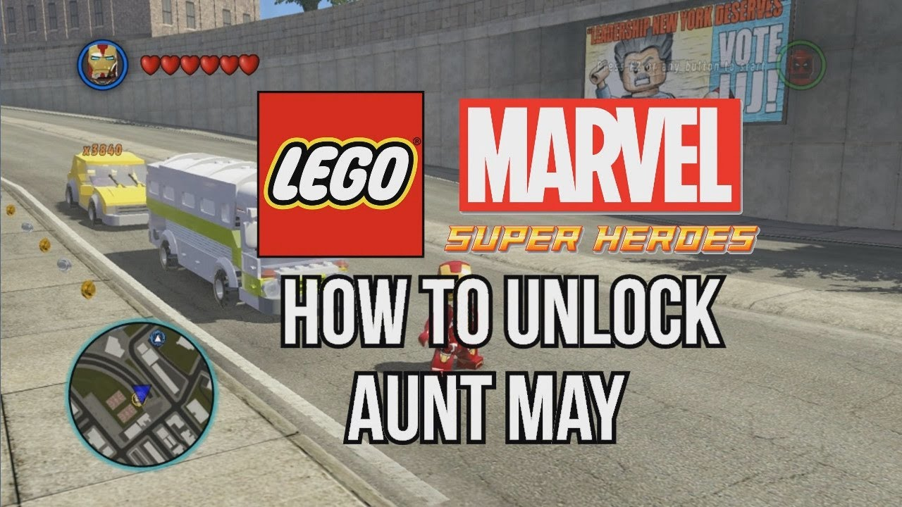 marvel lego aunt may