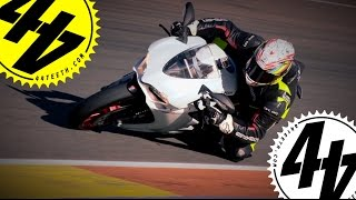 Chaseontwowheels panigale wreck