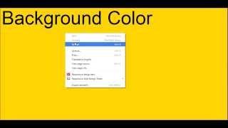 كيفية تعيين لون الخلفية في css | bg اللون | التدرج