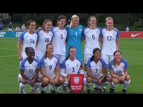 U-23 WNT vs. England: Highligh...