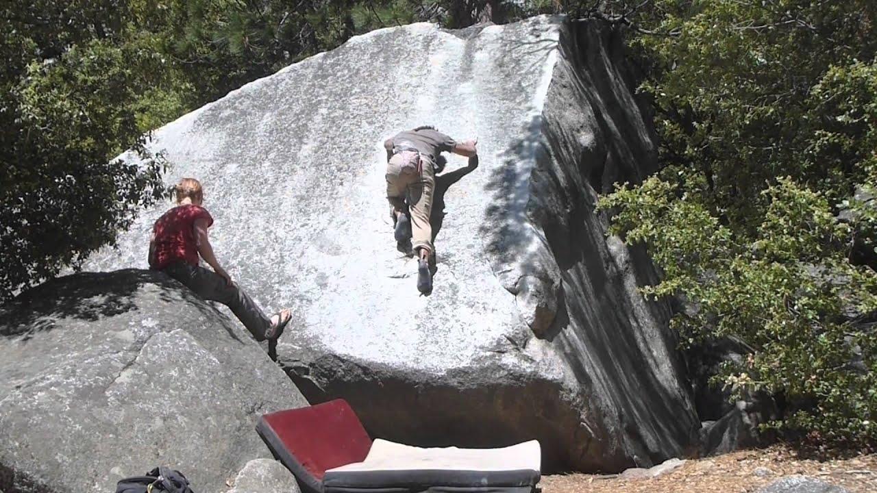 Yosemite Bouldering - Initial Friction V1