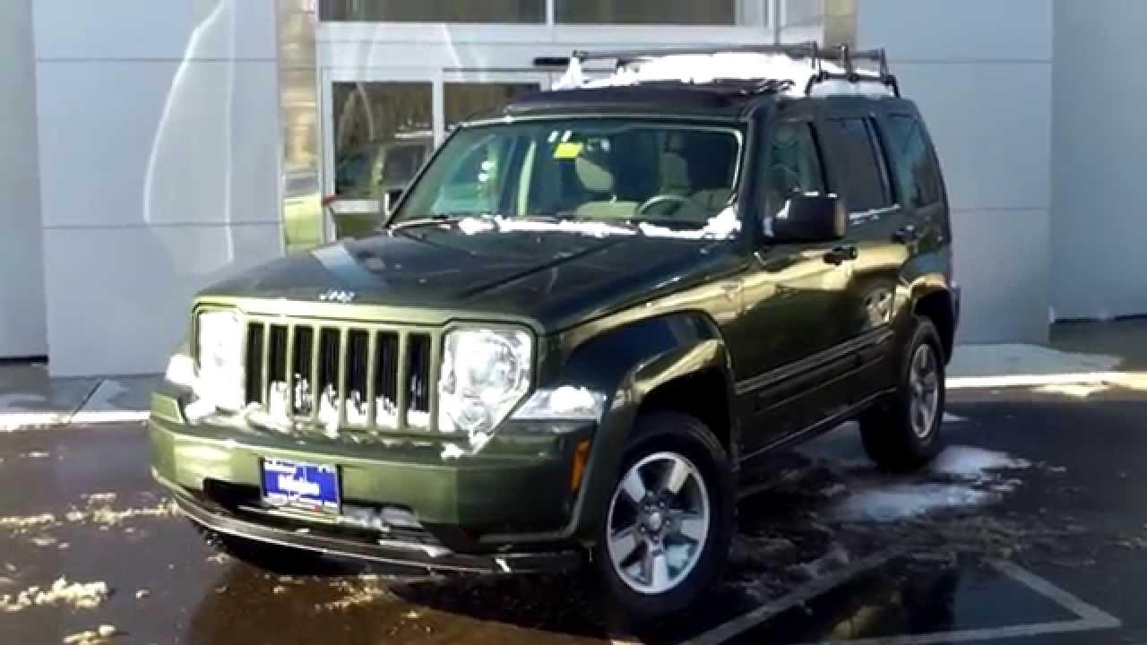 used 2008 jeep liberty sport 4x4 saco maine portland me lee