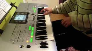 Celine Dion - Love can move mountains - performed by ArcWilc on Yamaha Tyros 3