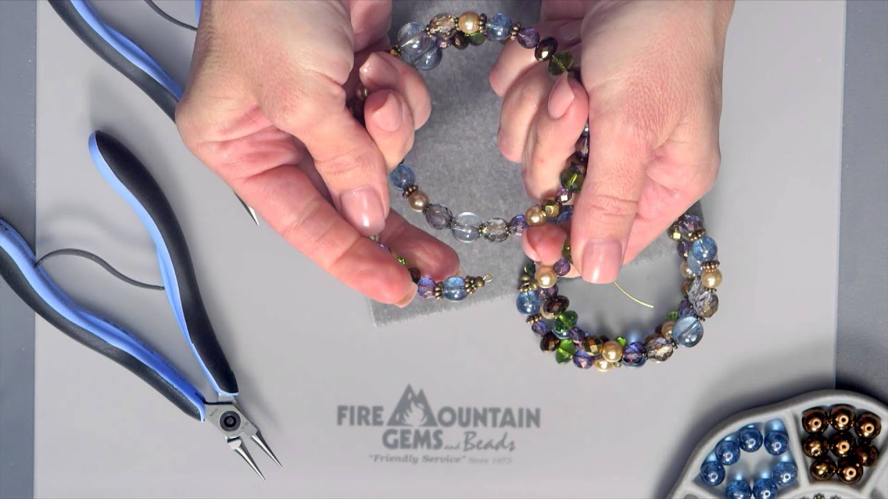 Memory Wire Bracelet - YouTube