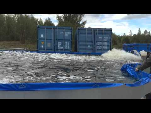 Swedish Flood Barrier test