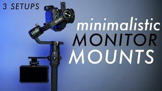 How to Mount a Monitor to DJI Ronin S   3 Setups