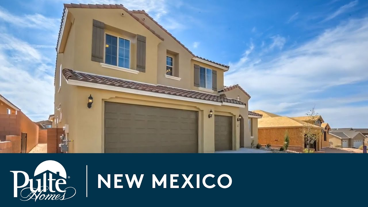 New homes in albuquerque new mexico cabezon by pulte for Home builders in new mexico