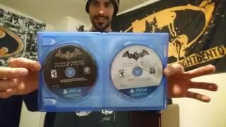 Batman Return to Arkham Unboxing (PS4)