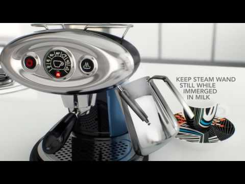 X7 1 Iperespresso illy Coffee Machine improved with passion for you