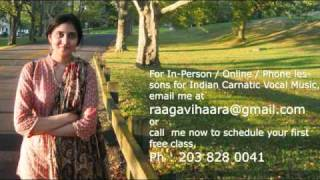 Carnatic Music Lessons - Sarali - 2