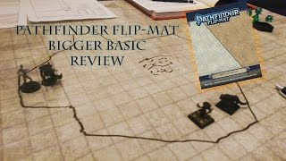 Pathfinder Flip-Mat Bigger Basic Review | Redshirts