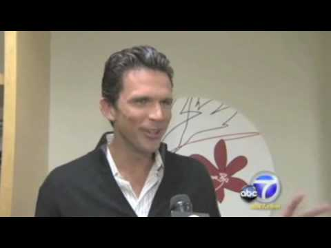 Ashley Hamilton on ABC 7 news! 'Dancing With The Stars' cast revealed!
