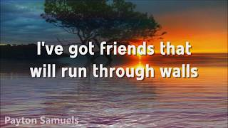 The Script - Run Through Walls (Lyrics)