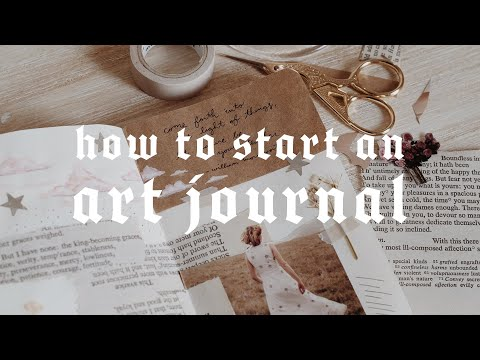 How to Start an Art Journal!