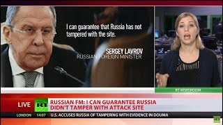 US, UK & France's evidence against Syria questions their reliability – Lavrov