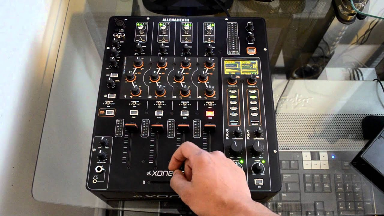 DJ Allen & Heath XONE:3D