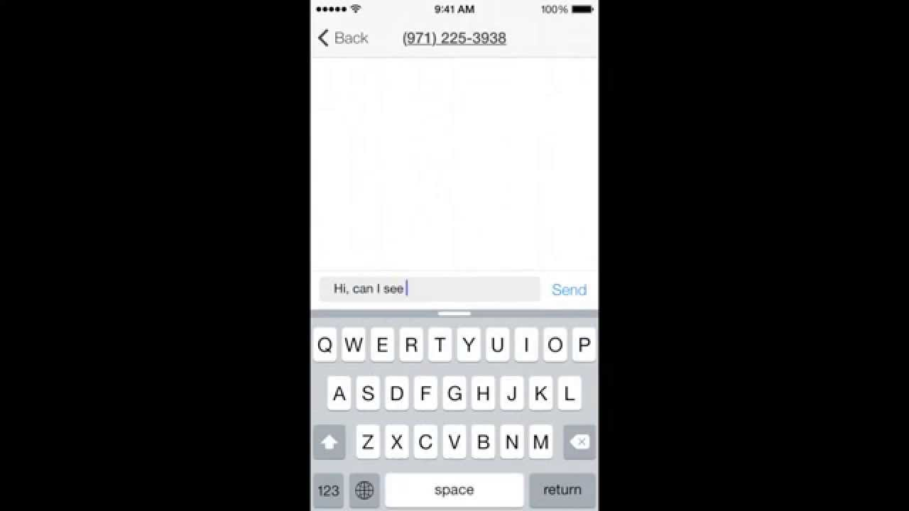 Smiley Private Texting For iOS and Android