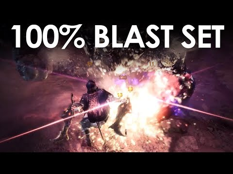 MHWorld | How to get infinite Explosions [100% BLAST]