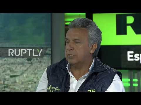Ecuador: Moreno slams 'dirty campaign' tricks of conservative opponent