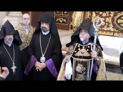 Archbishop Karekin Bekdjian Leaves Istanbul